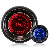 52mm Evo LCD Red / Blue AFR Air/Fuel Ratio Gauge