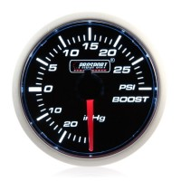 Electrical 52mm Smoked Super White Turbo Boost Gauge (PSI)