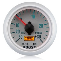52mm Silver Face Turbo Boost Gauge (PSI)
