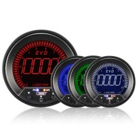 85mm Evo LCD Rev Counter (0-10,000Rpm) ***85MM***